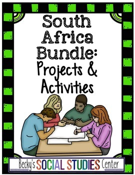 South Africa Bundle: 12 Projects - Geography, Apartheid &