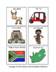 South Africa File Folder Matching