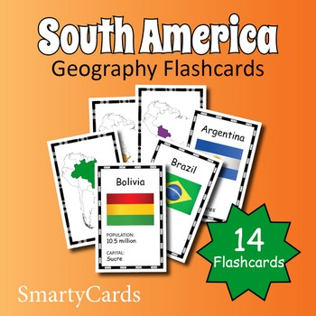 South America Geography Flashcards