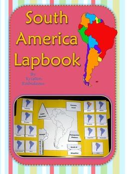 South America Lapbook