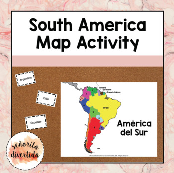 South America Map Activity
