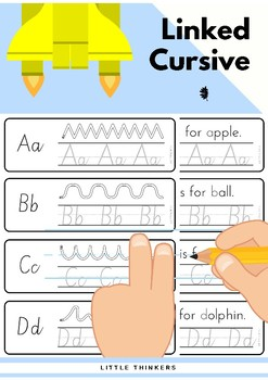 South Australian Linked Cursive Practice Strips