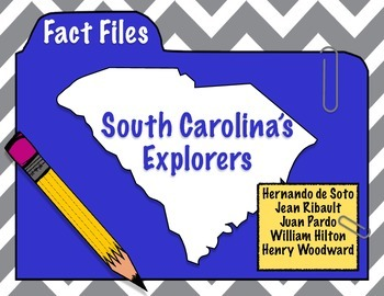South Carolina Explorers: Explorer Fact Files