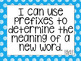 South Carolina I can statements for 2nd grade blue polka d
