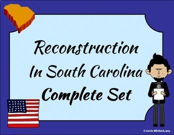 South Carolina - Reconstruction Complete Set 3-4.6