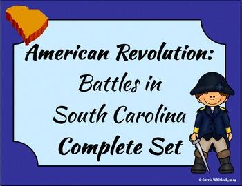 South Carolina - Revolutionary War: Battles in South Carol