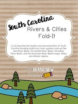 South Carolina Rivers and Cities || 3-1.2