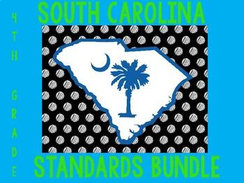 South Carolina Standards Bundle 4th grade