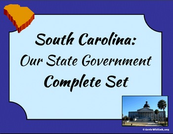 South Carolina - State Government Complete Set 3-3.5