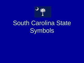 South Carolina State Symbols PowerPoint