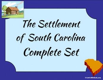 South Carolina - The Settlement of South Carolina Complete