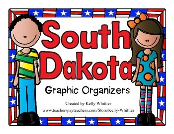 South Dakota Graphic Organizers (Perfect for KWL charts an