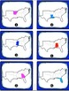 South Region States and Capitals Task Cards {Four Regions