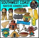 South West Native Americans Clip Art Bundle