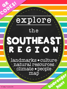Southeast Region QR Code Exploration