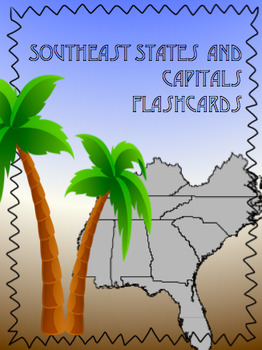 Southeast States and Capitals Flashcards