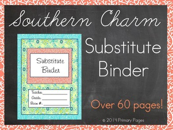 Southern Charm Substitute Binder
