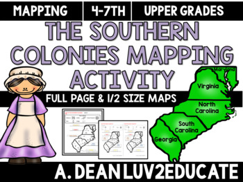 Colonial America: Southern Colonies Interactive Notebook M