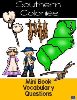 Southern Colonies Mini Book