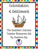 Southern Colonies Teacher Resources Set