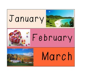 Southern Hemisphere Months of the Year
