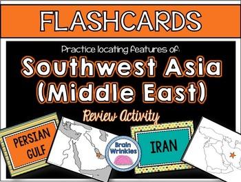 Southwest Asia's Geography FLASHCARDS