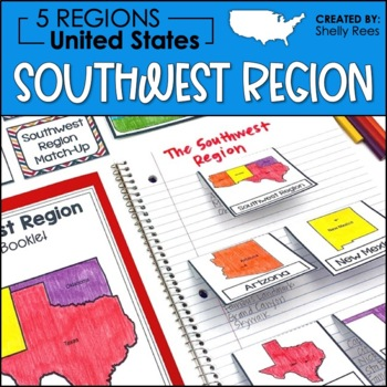 Regions of the United States - Southwest Region