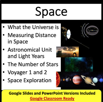 Space Lesson: An Introduction - Space PowerPoint Lesson &