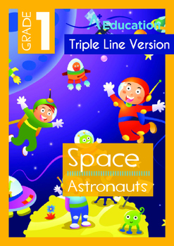 Space - Astronauts (II) - Grade 1 (with 'Triple-Track Writ