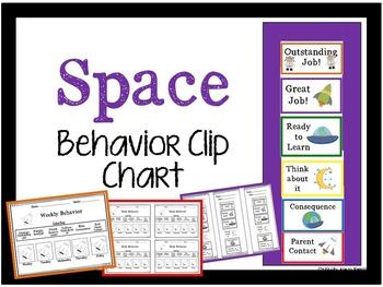 Space Behavior Clip Chart