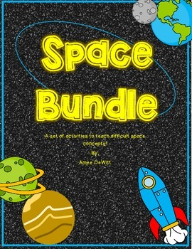 Space Bundle (A set of activities to teach important space