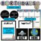 Birthday Space Theme - Editable