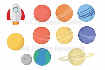 Space Clipart Set