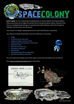 Space Colony - A Transactional Writing Idea (Report)