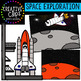 Space Clipart: Exploration {Creative Clips Clipart}