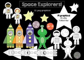 Space Explorers! (Commercial Use)