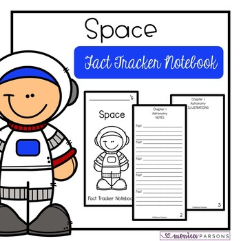 Space Fact Tracker Notebook (Magic Tree House Nonfiction C