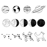 Space Fonts - Planets and Constellations