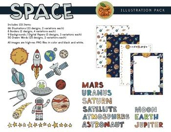 Space Illustration Pack