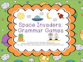 Space Invaders: Grammar Games
