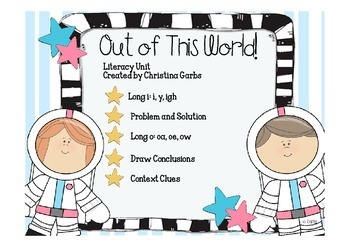 Space - Long i: i, y, and igh and Other Literacy Activities