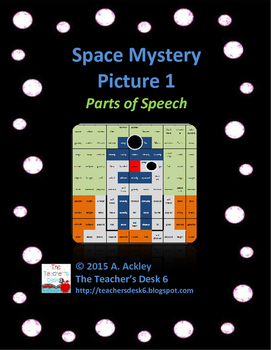 Space Mystery Picture 1 Parts of Speech