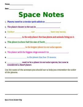 Space Notes