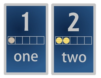 Space Numbers 1-10