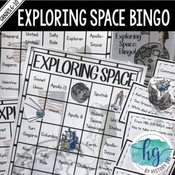 Space Race Bingo
