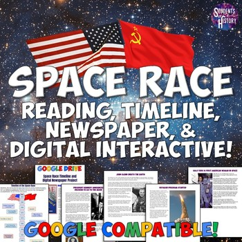Space Race Timeline and Newspaper Project Lesson