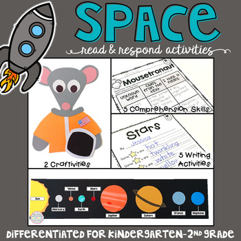 Space: Reading Comprehension, Writing and Craftivities