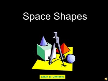 Space Shapes PowerPoint