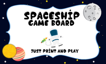 Space Ship Game Board