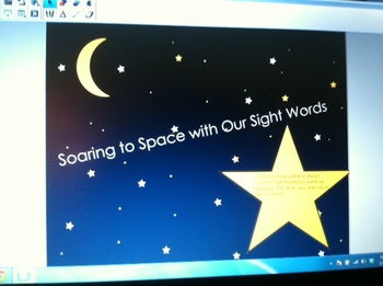 Space Sight Words